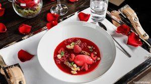 piatto di san valentino