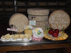 I formaggi della Valle di Blenio