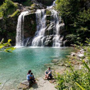 Le cascate di Maggia