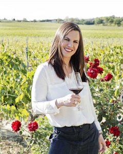Caterina Sacchet produttrice ed enologa di Carpineto Vini