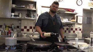 Lo chef Nicola Campus