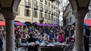 Bellinzona: mercato del sabato.