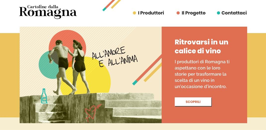 Cartoline dalla Romagna
