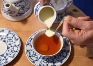 East Frisian tea culture in Bremen