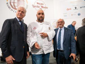 Alessandro Slama con Giorgio Agugiaro di Agugiaro & Figna Molini Francesco Cento di Polin