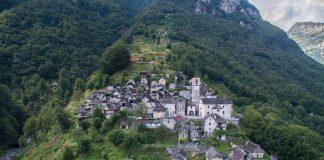 Corippo Canton Ticino