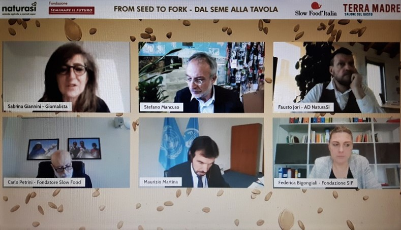 """Web talk """"Dal seme alla tavola"""""""