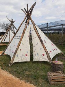 una tenda romagnola Rio del Sol