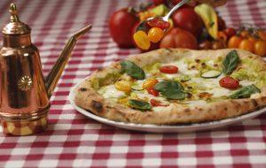 La pizza vegetale. Una ventata di freschezza, anche questa molto Beck