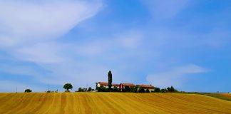 Giro d'Italia e Paesaggio rurale. Credits: Ph. Andrea Di Bella