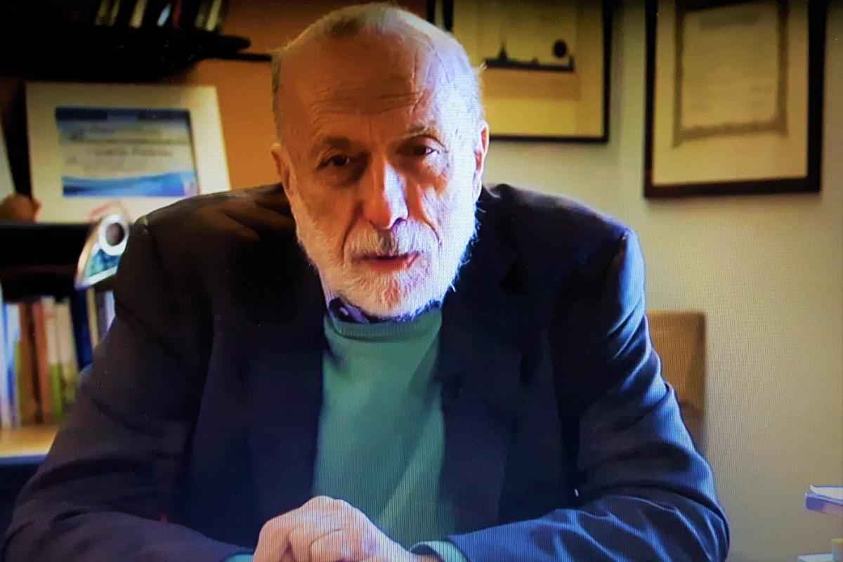 Carlo Petrini. Credits: Ph. Andrea Di Bella