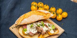 Tagliata di manzo con salsa al Gorgonzola (3)