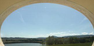 CARPINETO-Vista sul lago tenuta Montepulciano-estate