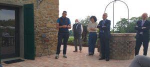 Aldo ed Elena Zivieri alla presentazione