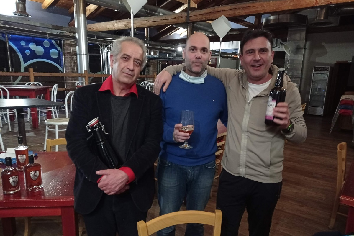 Roberto Messineo, Massimiliano Spigolon e Davide Zingarelli - Tre eccellenze valsusine unite per creare la birra
