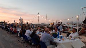 cena al tramonto porto sbtinbluturismosostenibile