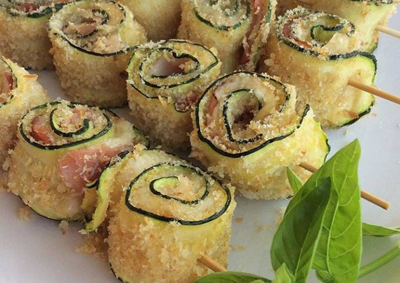 zucchine panate