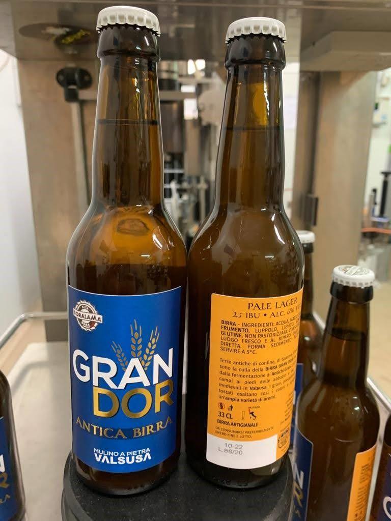 La nuova birra Gran Dor