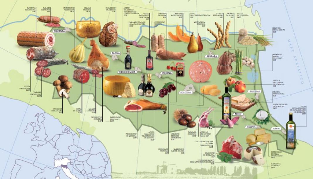 Emilia-Romagna food valley