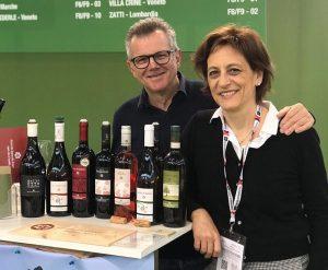 Paolo Beretta e Paola Massi di Fiorano