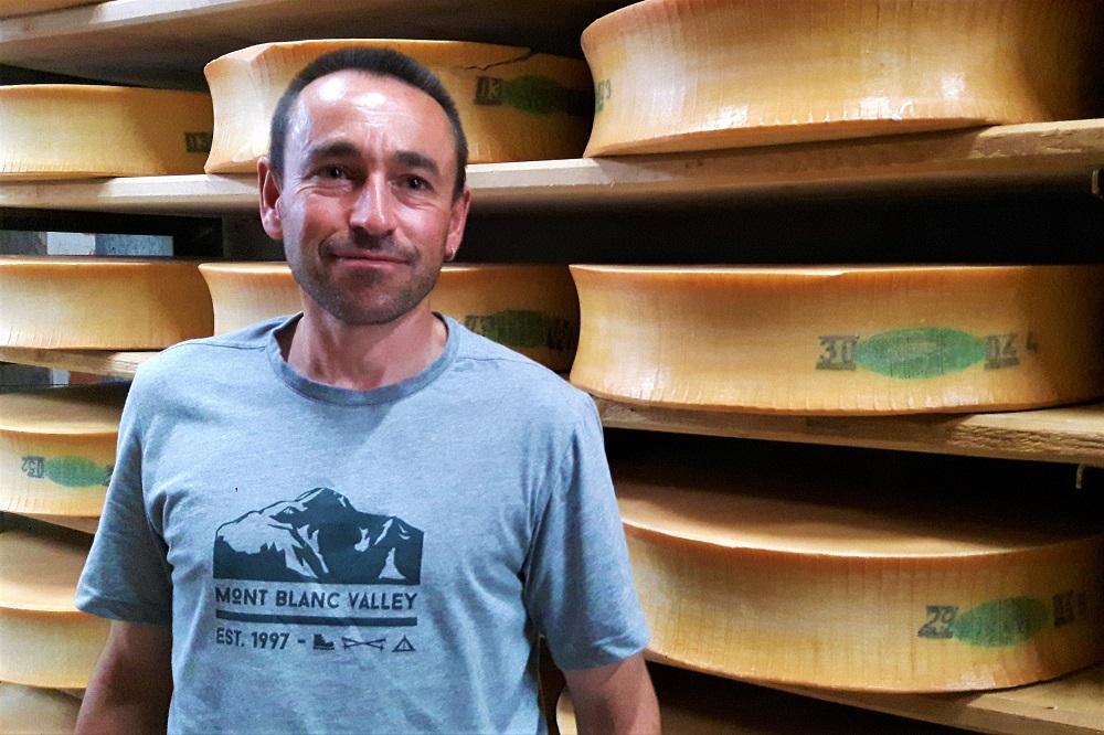 Il presidente della Cooperativa Claude Favre. Ph. credits Andrea Di Bella