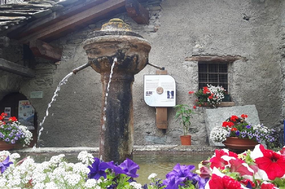 Fontana di pietra a Oulx. Ph. credits Andrea Di Bella