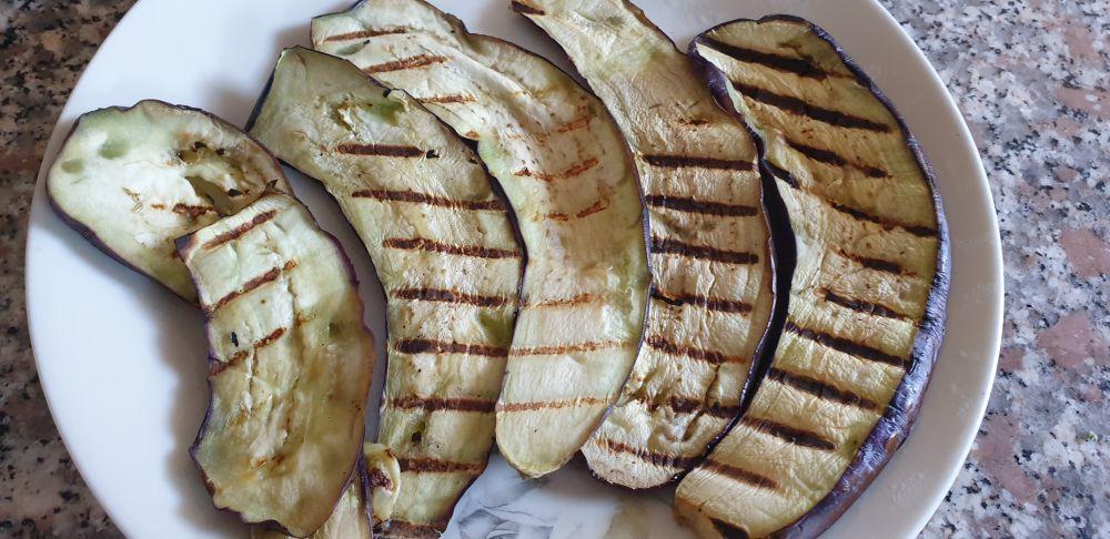 melanzate grigliate lunghe