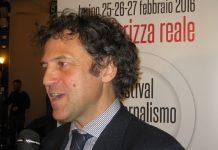Massimiliano Borgia, direttore del Festival del giornalismo alimentare. Credits ph. Andrea Di Bella