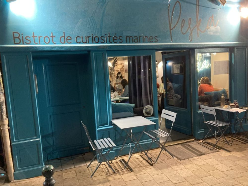 Ostriche della Bretagna-Rennes-ristorante Peska