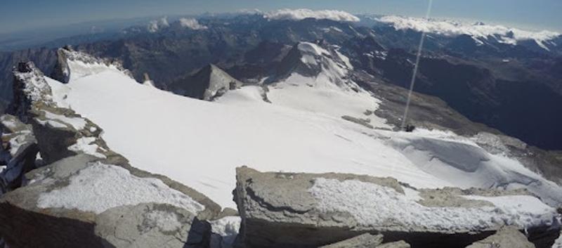 I ghiacciai del Gran Paradiso in arretramento